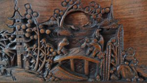Wood Carving 1 by Ox3ArtStock