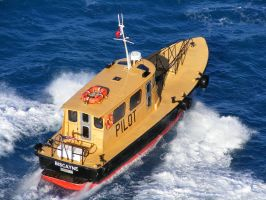Pilot Boat out of Miami by Roses-to-Ashes