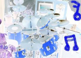 """Drum set Inverted"" by hope-for-the-broken"