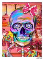 Lollipop Skull by eccoarts