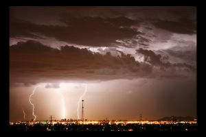Downtown Thunder by MilchstrabeSTern