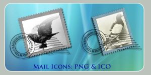 Carrier Pigeon Mail Icons by lehighost