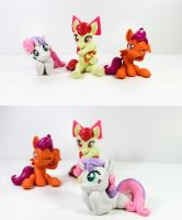 Cutie Mark Crusaders 2 by dustysculptures