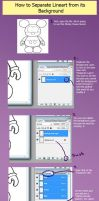 Separating Lineart Tutorial by errantscarecrow