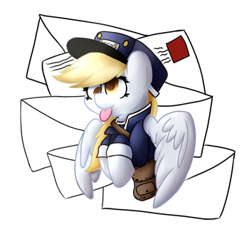 Derpy Collab by Lyres-art