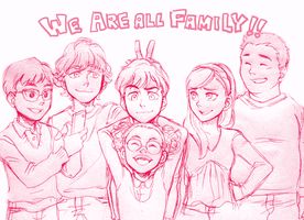 We are all family!! by Sii-SEN