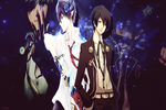 Wallpaper de Rin and Minato by Flxrence