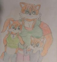 Prower family 2011 by WhippetWild