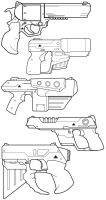 Triax Pistolz by BrianManning