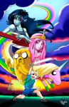 Adventure Time (full print) by Radiant-Grey
