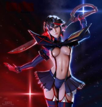 Matoi Ryuko Kill la Kill by JPL-Animation