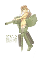 MOE KV-2 by HamCrumbs