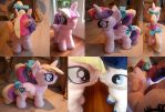 Cadence Filly Plush Purse by meplushyou