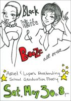 Graduation Party Flyer by cuteordeath