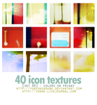 40 icon textures - colors on by yunyunsarang