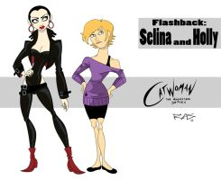 Catwoman: The Animated Series Flashback by rickytherockstar