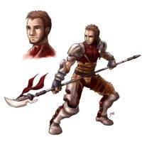 Glaive guy by keigo-mak