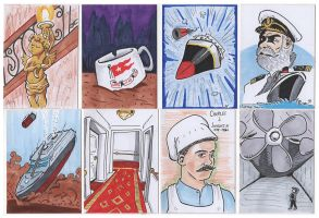 More Titanic Sketchcards by PlummyPress