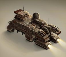 Arid Vehicle Concept by stonepro
