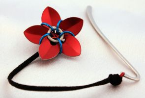 Flower Bookmark by chain-theory