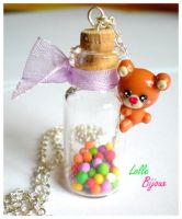 Fimo Candy Bear by LolleBijoux