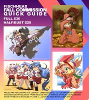 Fall Commissions by FischHead