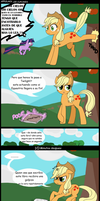 Applejack lee cupcakes by Mercury2099