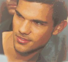 Taylor Lautner by Danii-Black