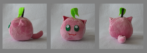 Peach Catfruit Plush by Catfruits