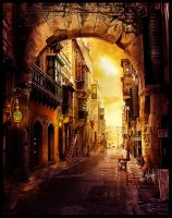 Gasse by PEWOB