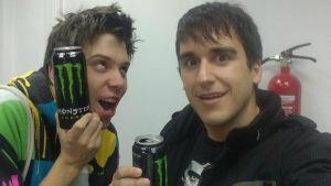ElrubiusOMG and mangelrogel by PandaUnicorn