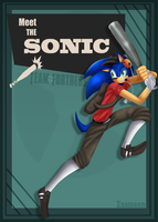 TF2: Sonic As Scout by zaameen