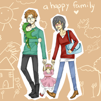 A happy family by YokoMorgan