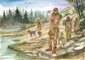 Cro-magnon Hunters finished by Sedeslav