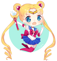 I Am Sailor Moon! by Sueweetie