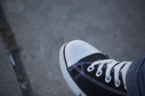 Cement Against my Shoes by qyoo