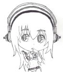Super Sonico Chibi Sketch by Sh0cK3R-Rotom