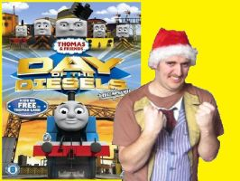 Thomascember Day Of The Diesels Title Card by Dalek44