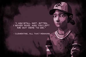 The Walking Dead - Clementine by jakest123