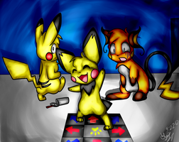 Pichu's the better dancer Remake 2 by Freeze-pop88