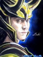 Loki,the most beautiful man in Avengers by beckpage