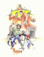 Beastie Boys and Rage by Pancho-Villa