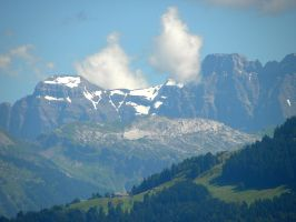 The Alps by Agatje