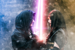 Demyan and Darth Ydra: A Star Wars Couple by ASCosplay