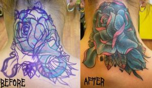 Rose Cover Up by Dripe