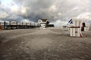 St. Peter-Ording Beach IV by puppeteerHH