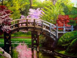 Bridge in the park by xXSahara96Xx