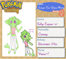 Pokemon Crossing Plus- Eve Rivers- Remake by unepetitefae