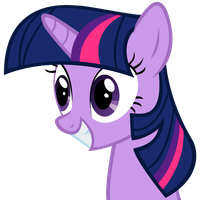 Twilight Sparkle (looking particularly terrifying) by DrFatalChunk