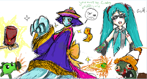 Random iScribble Session 1 by shaocloud